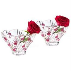 Сервизы и наборы посуды Набор салатников Marc Aurel Красные розы 11 см 2 шт