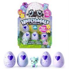 Набор игровой для девочек Игрушка Hatchimals коллекционная фигурка 4 штуки + бонус