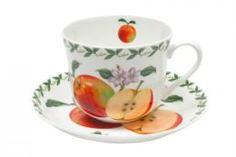 Чайные пары и сервизы Чашка с блюдцем Maxwell & Williams Яблоко 0.48 л