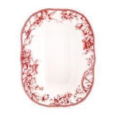 Столовая посуда Салатник Utana Аделаида Бордо 28,5 см