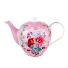Заварочные чайники и френч-прессы Чайник маленький Pip studio rose pink 1.6л