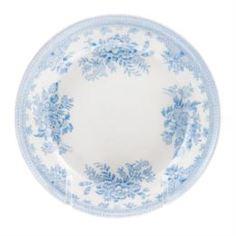 Столовая посуда Блюдце для масла Burleigh Синие азиатские фазаны 12 см