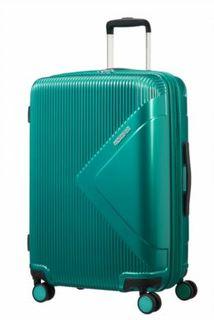 Рюкзаки и чемоданы Чемодан American Tourister Modern dream изумрудный M