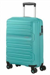 Рюкзаки и чемоданы Чемодан American Tourister Sunside бирюзовый S