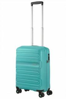 Рюкзаки и чемоданы Чемодан American Tourister Sunside бирюзовый M