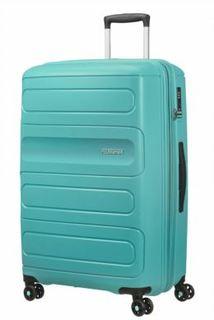 Рюкзаки и чемоданы Чемодан American Tourister Sunside бирюзовый L