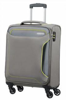 Рюкзаки и чемоданы Чемодан American Tourister Holiday Heat серый S