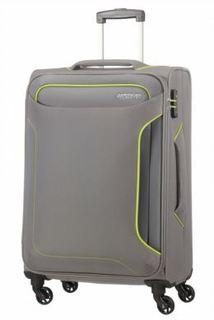 Рюкзаки и чемоданы Чемодан American Tourister Holiday Heat серый M
