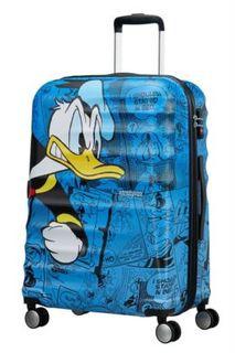 Рюкзаки и чемоданы Чемодан American Tourister Доналд Дак Wavebreaker Disney Spinner L