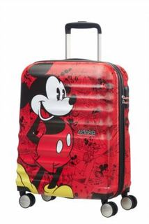 Рюкзаки и чемоданы Чемодан American Tourister Микки Wavebreaker Disney Spinner L