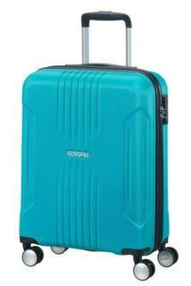 Рюкзаки и чемоданы Чемодан American Tourister Spinner синий M