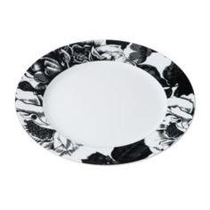 Столовая посуда Тарелка Yves de la Rosiere обеденная Черный Базилик 27 см
