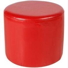 Столы, стулья и пуфики Пуфик Vental пф-5 красный