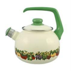 Чайники, кофейники, турки Чайник эмалированный Мetrot Фруктовый сад 2,5 л