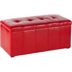 Столы, стулья и пуфики Пуф пф-3 красный Vental