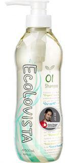 Средства по уходу за волосами Шампунь Ecolovista Moist Spa Увлажнение 500 мл
