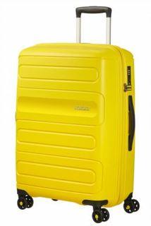 Рюкзаки и чемоданы Чемодан American Tourister Sunside желтый M