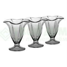 Сервизы и наборы посуды Набор креманок Pasabahce Ice ville 200 мл 3 шт