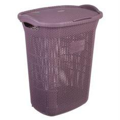 Емкости для хранения Корзина для белья 65 л Violet Виолетта сливовый