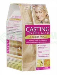 Средства по уходу за волосами Краска L'Oreal Casting Creme Gloss 1010 254 мл Светло-светло русый пепельный (A5000404)