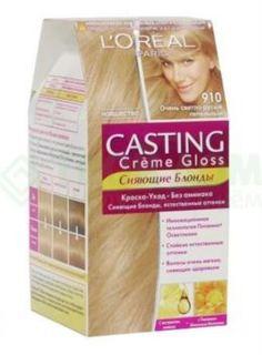 Средства по уходу за волосами Краска L'Oreal Casting Creme Gloss 910 254 мл Очень светло-русый пепельный (A5000604)