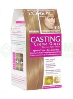 Средства по уходу за волосами Краска L'Oreal Casting Creme Gloss 810 254 мл Перламутровый русый (А3124700)