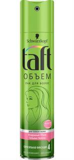 Средства по уходу за волосами Лак для волос Taft Объем Сверхсильная фиксация 225 мл