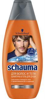 Средства по уходу за волосами Шампунь и гель для душа Schauma Для волос и тела 380 мл