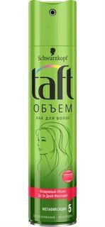 Средства по уходу за волосами Лак для волос Taft Объем Мегафиксация 225 мл