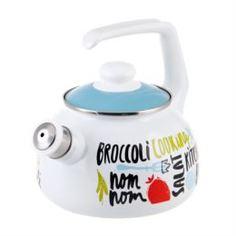 Чайники, кофейники, турки Чайник эмалированный Metrot Брокколи 2.5 л