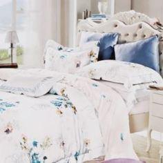 Комплекты постельного белья Постельный комплект DLoal евро 4 предмета цветной Dloale
