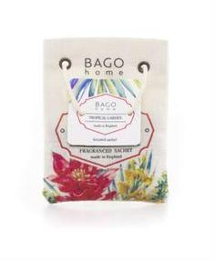Свечи, подсвечники, аромалампы Ароматическое саше BAGO home Тропический сад 7 х 9.5 см