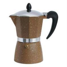 Чайники, кофейники, турки Кофеварка гейзерная Winner коричневая 600 мл