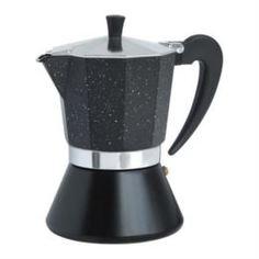 Чайники, кофейники, турки Кофеварка гейзерная Winner черная 400 мл