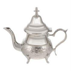 Заварочные чайники и френч-прессы Чайник МАРОКДекор Серебро 350 мл