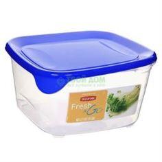 Лотки, контейнеры Контейнер Curver Fresh&Gо квадратный 1,7 л синий