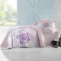 Комплекты постельного белья Постельный комплект Altinbasak Ilma Pembe