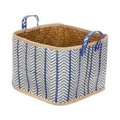 Емкости для хранения Корзина декоративная Kaemingk листья пальмы 37х37х30