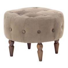 Столы, стулья и пуфики Банкетка круглая Leset Марго Velutto 45 х 45 х 35 см