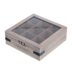 Емкости для хранения Короб для чая Koopman Tableware 24 х 24 х 9 см