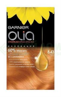 Средства по уходу за волосами Краска L'Oreal Olia 8.43 160 мл Медный блонд (C5730200)