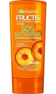 Средства по уходу за волосами Укрепляющий бальзам-ополаскиватель Garnier Fructis SOS Восстановление 200 мл