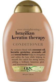 Средства по уходу за волосами Разглаживающий кондиционер OGX Бразильский кератин для укрепления волос 385 мл