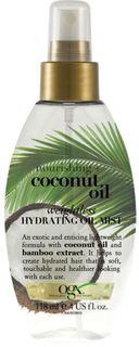 Средства по уходу за волосами Масло-спрей для волос OGX Coconuil oil Легкое увлажнение 118 мл