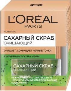 Уход за кожей лица Скраб для лица LOreal Paris Сахарный Очищающий 50 мл LOreal
