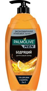 Средства по уходу за телом Гель для душа Palmolive Men 2в1 Цитрусовый заряд 750 мл