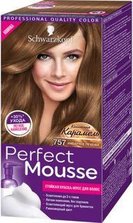 Средства по уходу за волосами Краска для волос Schwarzkopf Perfect Mousse 757 Имбирное Печенье