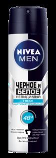 Средства по уходу за телом Дезодорант Nivea Невидимая защита Черное и белое мужской Fresh 150 мл