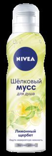 Средства по уходу за телом Шелковый мусс для душа Лимонный щербет Nivea