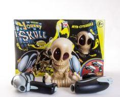 Интерактив обучающий Игрушка Тир проекционный Джонни-Черепок с 2-мя бластерами Johnny the Skull